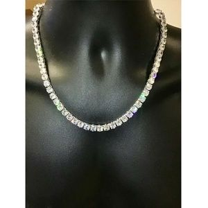 Harlembling Lab Diamond 8mm Tennis Chain Necklace